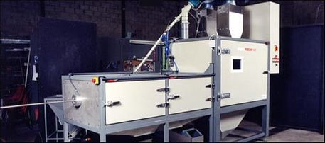 Wet Blasting Cabinet (auto) - Wire cleaning & processing
