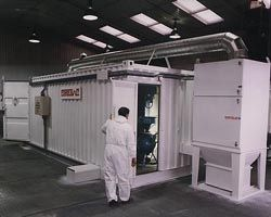 Standard Container Blast Room