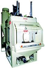 Multiblast® RXS900 automatic rotary table surface finishing system